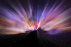 Cosmic Ray Energy Background Stock Footage