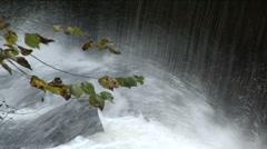 New England Waterfall Stock Footage