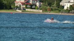 Slow Motion Jet Ski Stock Footage