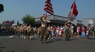 Stock Video Footage of Memorial Day Parade