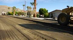 Road Construction Motor Grader  Stock Footage