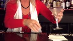 Martini - stock footage