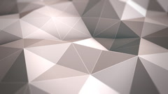 Polygon Waves Stock Footage