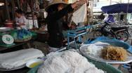 Vietnamese Noodle Maker Hoi An Stock Footage