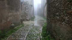 Erice city Stock Footage
