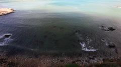 Coast of Sicily Stock Footage