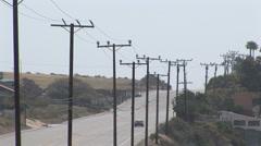 Malibu hill (4) - stock footage