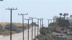 Malibu hill (3) - stock footage