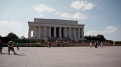 Lincoln Memorial Timelapse by SMLSHD Stock Footage