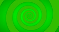 Stock Video Footage of Green Swirl