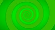 Stock Video Footage of Green Swirl