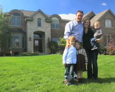 Family and House 5 - stock footage