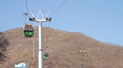 Salta Cable Car Stock Footage