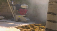 Stock Video Footage of Cement grinder CU