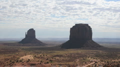 Monument Valley Clouds Time Lapse - Pretty Stock Footage