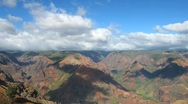 Stock Video Footage of Waimea Canyon