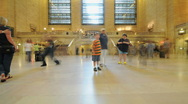 Grand Central Station Crowds - Clip 2 Stock Footage