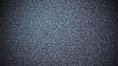 TV Interference On Off Blue Tint Stock Footage