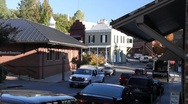 Stock Video Footage of nevada city california