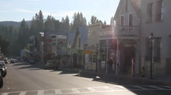 Nevada city calif  Stock Footage