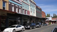 Stock Video Footage of small town mainstreet