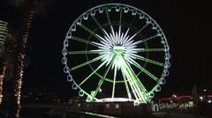 Cape Town Ferris Wheel Stock Footage