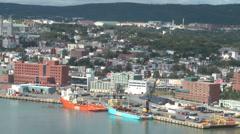 Port Of St John's NFL - stock footage