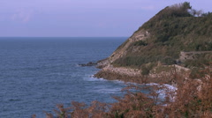 Pays Basque cote 1 Stock Footage
