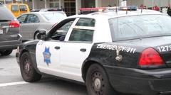 San Francisco Police Stock Footage