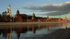 Kremlin  view  4 - stock footage