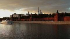 Kremlin  view  1 Stock Footage