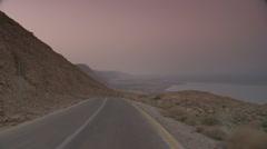Dead sea drive 5 Stock Footage