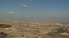 Jerusalem Judean desert 2 Stock Footage