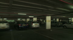 Parkinglot drive 5 Stock Footage
