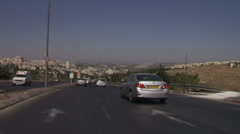 Ramot road 3 Stock Footage