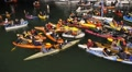 San Francisco Giants Kayaking Fans HD Footage