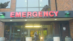 Emergency Room Stock Footage