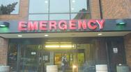 Emergency Room Stock Footage