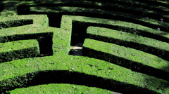 A Maze, Veneto, Italy, Europe Stock Footage