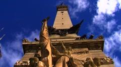 Indiana War Memorial Stock Footage