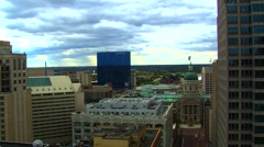 Downtown Indianapolis Stock Footage