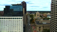 Indianapolis Skyscrapers Stock Footage