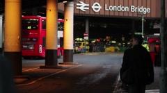 London city - stock footage