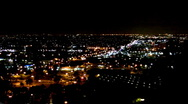 Night City Lights 2 Stock Footage
