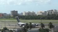 USAF C17 Global Master - C130 and UPS Cargo Jetplane  taking off Stock Footage