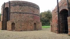 Brick Kilns Stock Footage