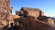 Pilgrims from China. Moses Mountain. Sinai Peninsula. Egypt Stock Footage