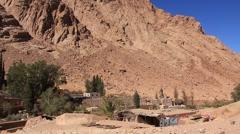Saint Catherine's Monastery. Sinai Peninsula. Egypt. Full HD Stock Footage