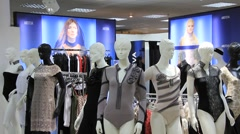 Mannequins Stock Footage