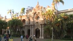 San Diego USA Balboa Park Casa Del Prado 214 1460 01 Stock Footage